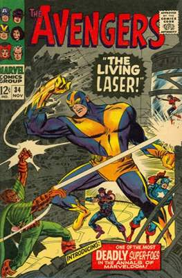 The Avengers Vol. 1 (1963-1996) (Grapa) #34