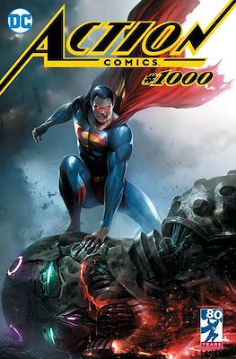 Action Comics Vol. 1 (1938-2011; 2016-... Variant Covers) (Comic Book) #1000.15
