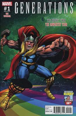 Generations - The Thunder (Variant Cover) (Comic Book) #1