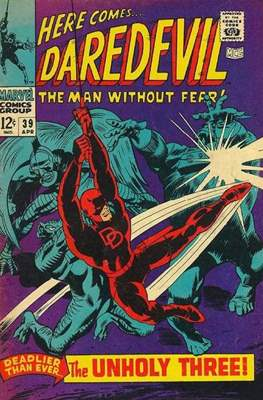 Daredevil Vol. 1 (1964-1998) (Comic Book) #39