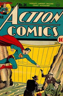 Action Comics Vol. 1 (1938-2011; 2016-) (Comic Book) #34