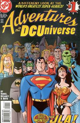 Adventures in the DC Universe #1
