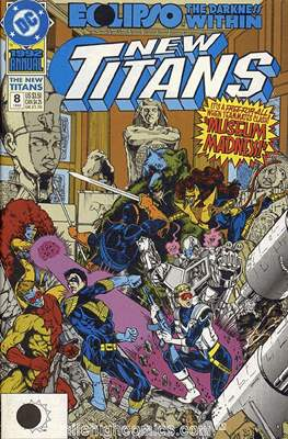 New Teen Titans / New Titans Annual (1985-1995) (Comic Book) #8