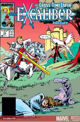 Excalibur Vol. 1 (Comic Book) #12