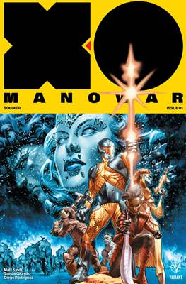X-O Manowar Vol. 4 (2017-2019) #1