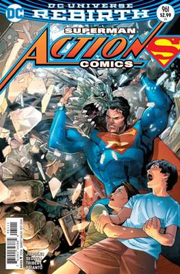 Action Comics Vol. 1 (1938-2011; 2016-) (Comic Book) #961