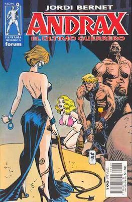 Andrax, el ultimo guerrero #9