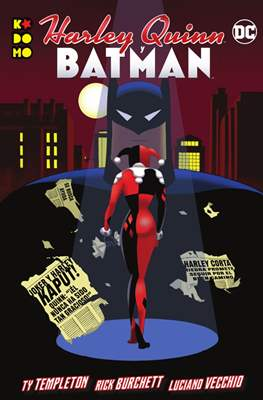 Harley Quinn y Batman. Linea Kodomo