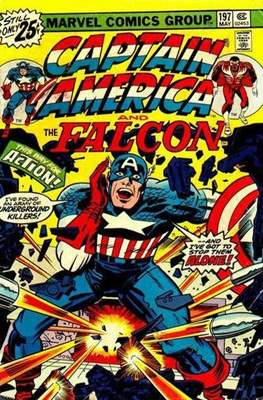 Captain America Vol. 1 (1968-1996) (Comic Book) #197