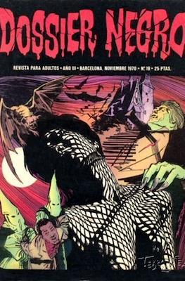 Dossier Negro (Rústica y grapa [1968 - 1988]) #19