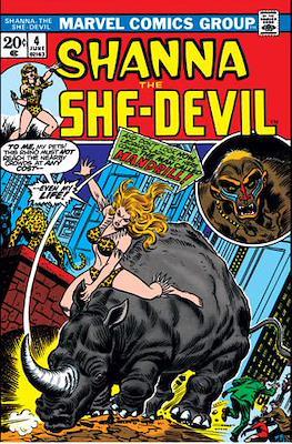 Shanna the She-Devil Vol. 1 (comic grapa usa) #4