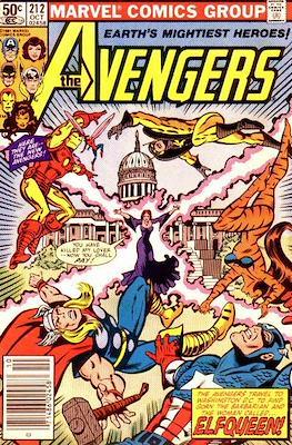 The Avengers Vol. 1 (1963-1996) (Grapa) #212