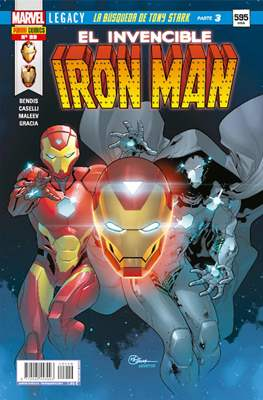 El Invencible Iron Man Vol. 2 (2011-) (Grapa - Rústica) #89