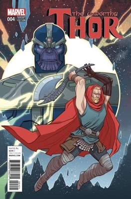 The Unworthy Thor (Variant Cover) (Comic Book) #4