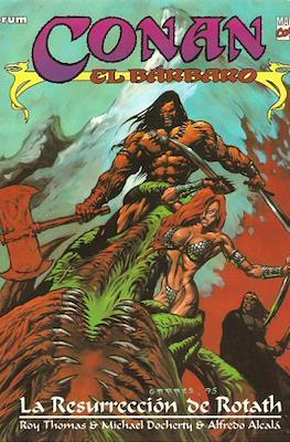 Conan el Bárbaro. Novelas graficas #3