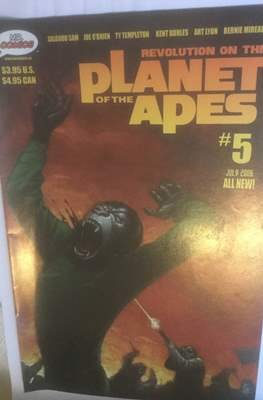 Revolution on the Planet of the Apes (Comic Book 32 pp) #5