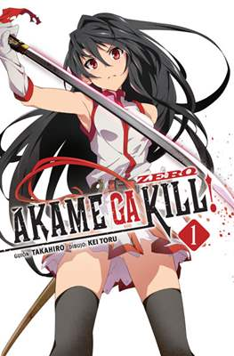 Akame ga Kill! Zero (Rústica con sobrecubierta) #1
