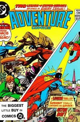 New Comics / New Adventure Comics / Adventure Comics (1935-1983; 2009-2011) (Saddle-Stitched) #497