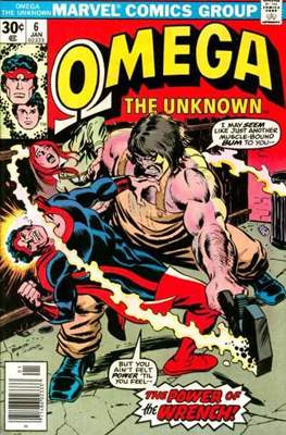 Omega The Unknown (Comic Book. 1976 - 1977) #6