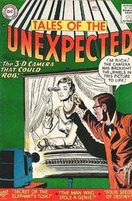 Tales of the Unexpected (1956-1968) (Comic Book) #8