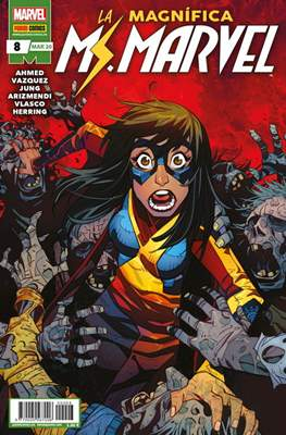 La Magnífica Ms. Marvel (2019-) (Grapa 24 pp) #8