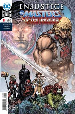 Injustice vs. Masters of the Universe (Comic Book) #1