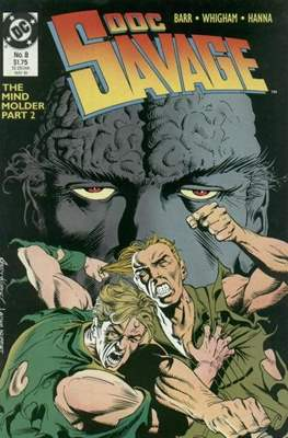 Doc Savage Vol 2 (1988-1990) (Comic-book.) #8