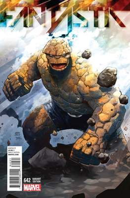 Fantastic Four Vol. 5 (Variant Cover) #642