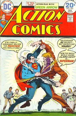 Action Comics Vol. 1 (1938-2011; 2016-) (Comic Book) #431