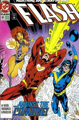 The Flash Vol. 2 (1987-2006) (Comic Book) #81