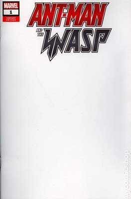 Ant-Man and The Wasp (Variant Covers) (Comic Book) #1.2