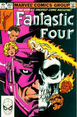 Fantastic Four Vol. 1 (1961-1996) (saddle-stitched) #257