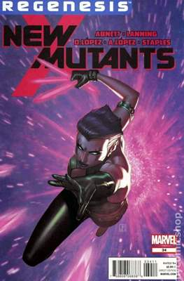 New Mutants Vol. 3 (Comic Book) #34