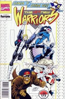 The New Warriors vol. 1 (1991-1995) (Grapa. 17x26. 24 páginas. Color. (1991-1995).) #46