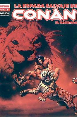 La Espada Salvaje de Conan el Bárbaro. Edición coleccionistas (Rústica. 64 páginas. B/N. (2005-2008).) #18