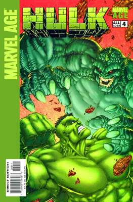 Marvel Age: Hulk Vol. 1 (Comic Book) #4