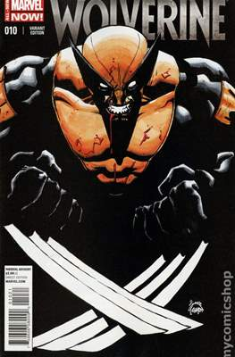 Wolverine (2014 Variant Cover) (Comic Book) #10