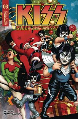 KISS: Blood and Stardust (Variant Covers) (Comic Book) #3.1