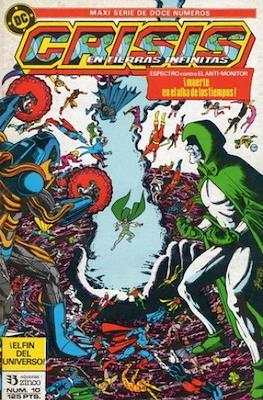 Crisis en Tierras Infinitas (1987) (Grapa. 32 páginas. Color.) #10