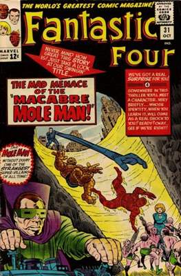 Fantastic Four Vol. 1 (1961-1996) (saddle-stitched) #31