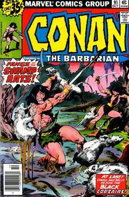 Conan The Barbarian (1970-1993) (Comic Book 32 pp) #91
