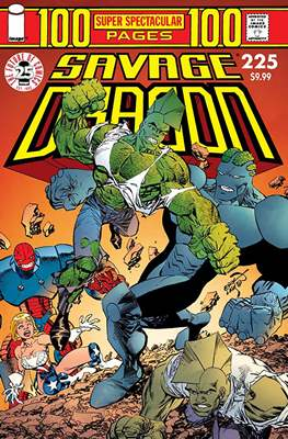 The Savage Dragon (Variant Covers) #225.3