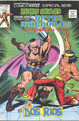 Relatos salvajes. Artes marciales Judo - Kárate - Kung Fu (1975-1979) (Rústica 52-68 pp) #50
