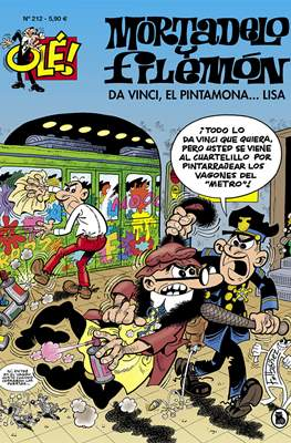 Mortadelo y Filemón. OLÉ! (1993 - ) (Rústica, portadas en relieve) #212