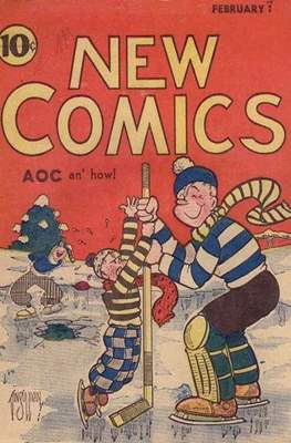New Comics / New Adventure Comics / Adventure Comics (1935-1983 ; 2009-2011) #3
