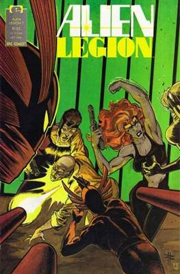 Alien Legion Vol 2 #7