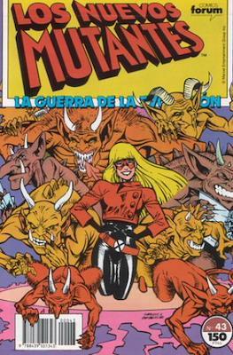 Los Nuevos Mutantes Vol. 1 (1986-1990) (Grapa 32-64 pp) #43