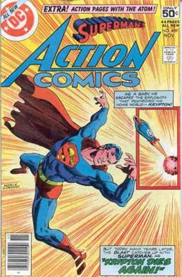 Action Comics Vol. 1 (1938-2011; 2016-) (Comic Book) #489