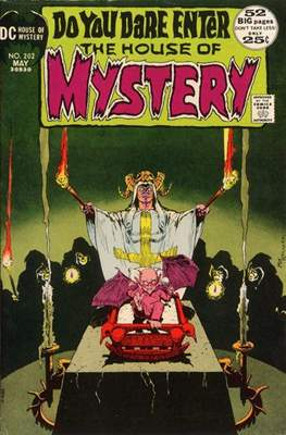 The House of Mystery (Grapa) #202