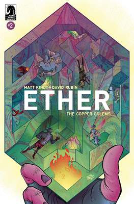 Ether: The Copper Golems (Comic book) #2